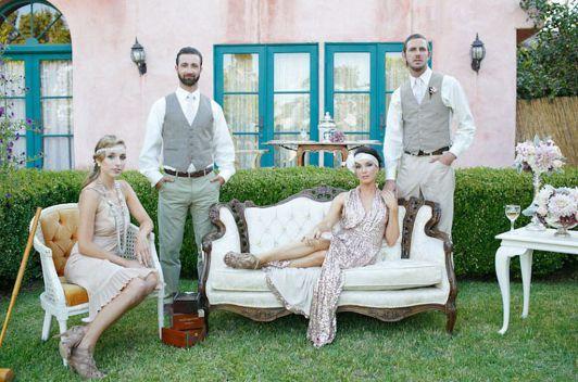50 great gatsby wedding theme ideas 7