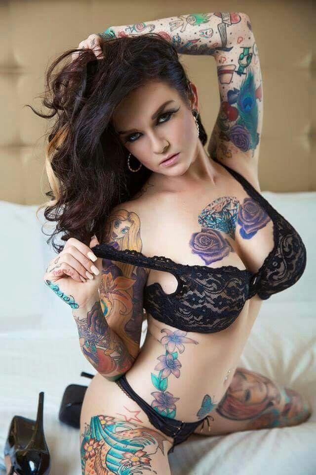 Inked up sluts nude
