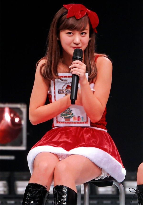 ℃-ute - 萩原舞 Hagiwara Mai #サンタ