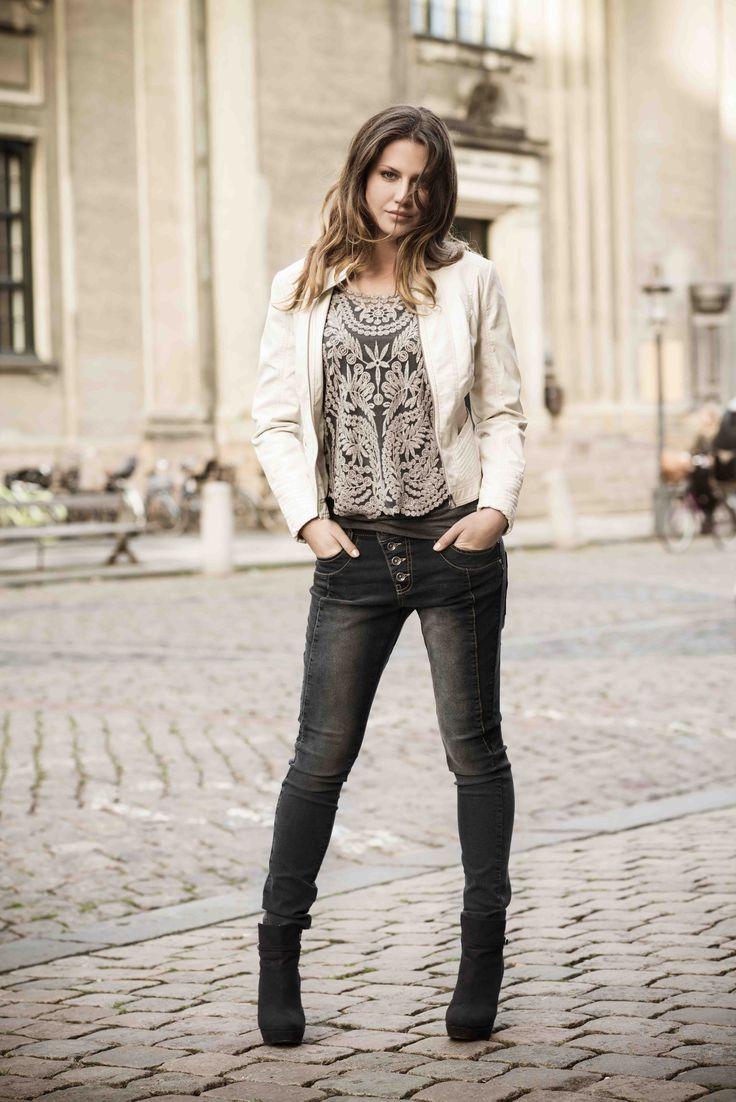 soyaconcept - jacket - blouse - jeans - pants