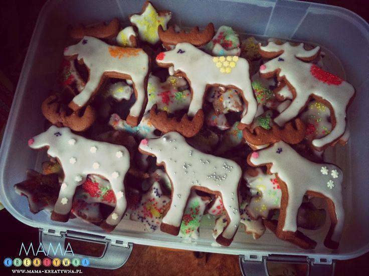 Świąteczne wypieki - nasze pierniki - Mama-Kreatywna