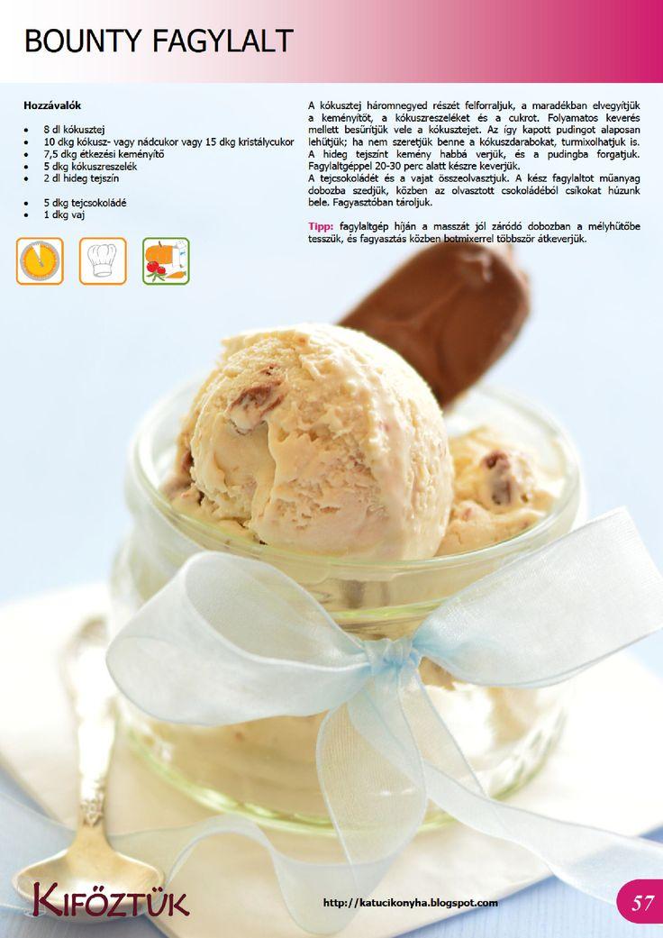 Bounty fagylalt