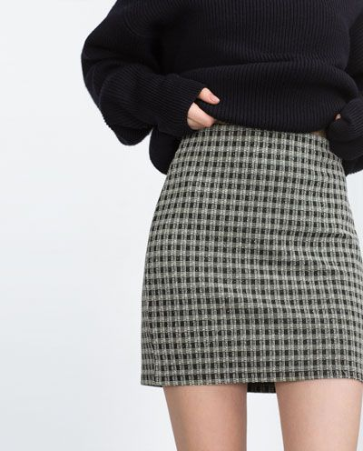 Image 4 of MINI SKIRT from Zara