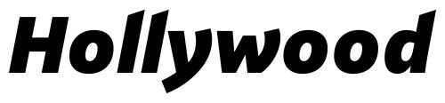 PF Highway Sans Pro Black Italic font > FontHaus
