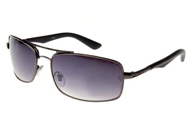 Ray Ban Active Lifestyle RB3460 Sunglasses Black Frame