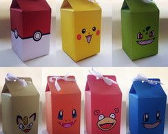 Caixa Milk Box - Pokemon