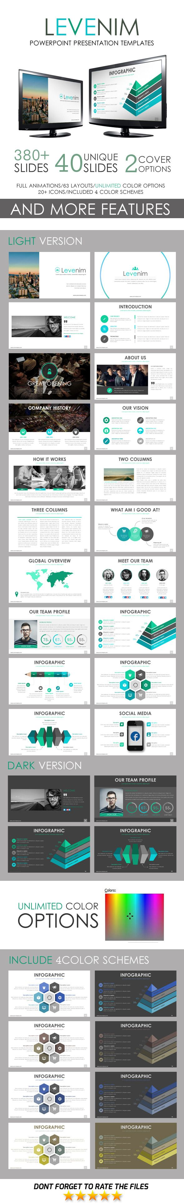Levenim PowerPoint Template - Business PowerPoint Templates
