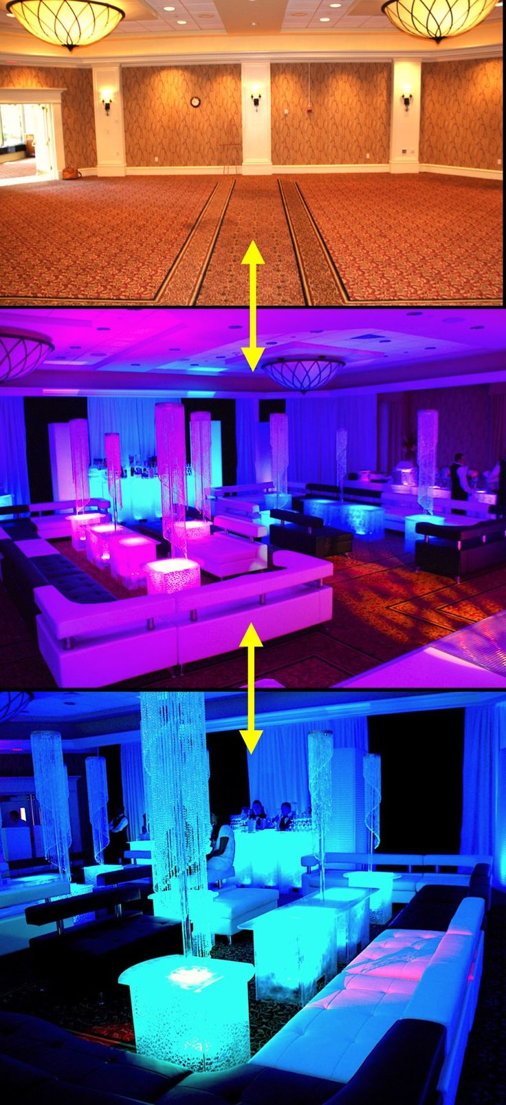 Special Event rentals. Wholesale LED acrylic ice stages