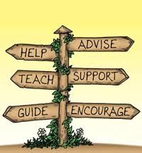 Help/Teach/Guide/Advise/Support/Encourage Children always need this in their lives.