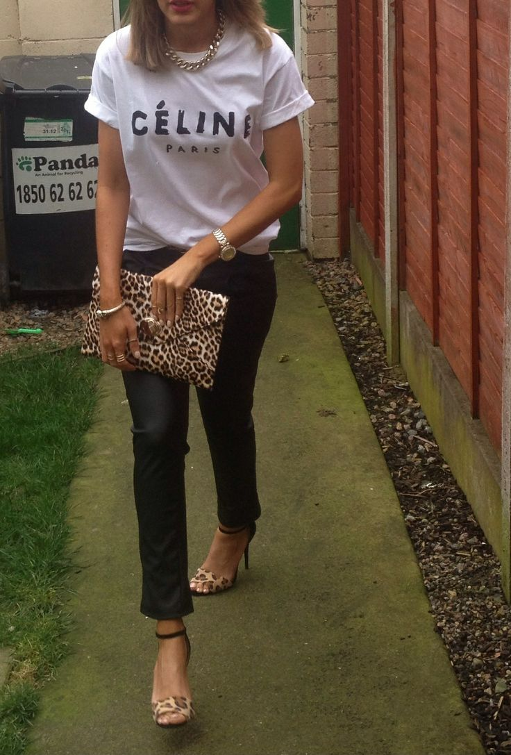 Celine and leopard, one of my favourite combos,perfect for day or night