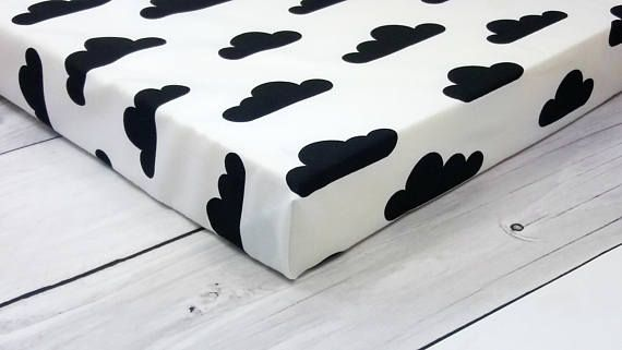 crib sheets monochrome nursery bassinet sheets change pad