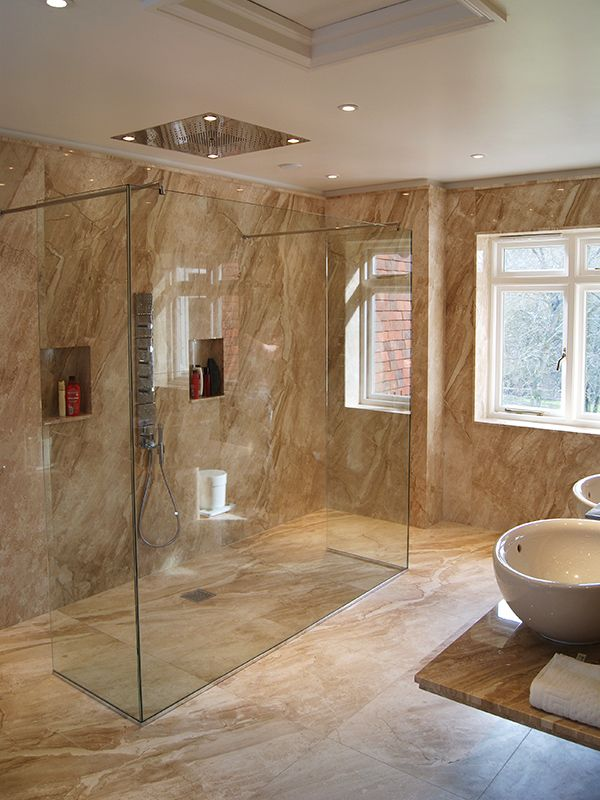 24 best images about wet rooms on pinterest - Bath shower room ...