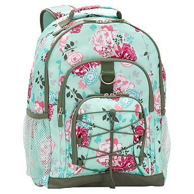 Gear-Up Garden Party Floral Backpack #pbteen