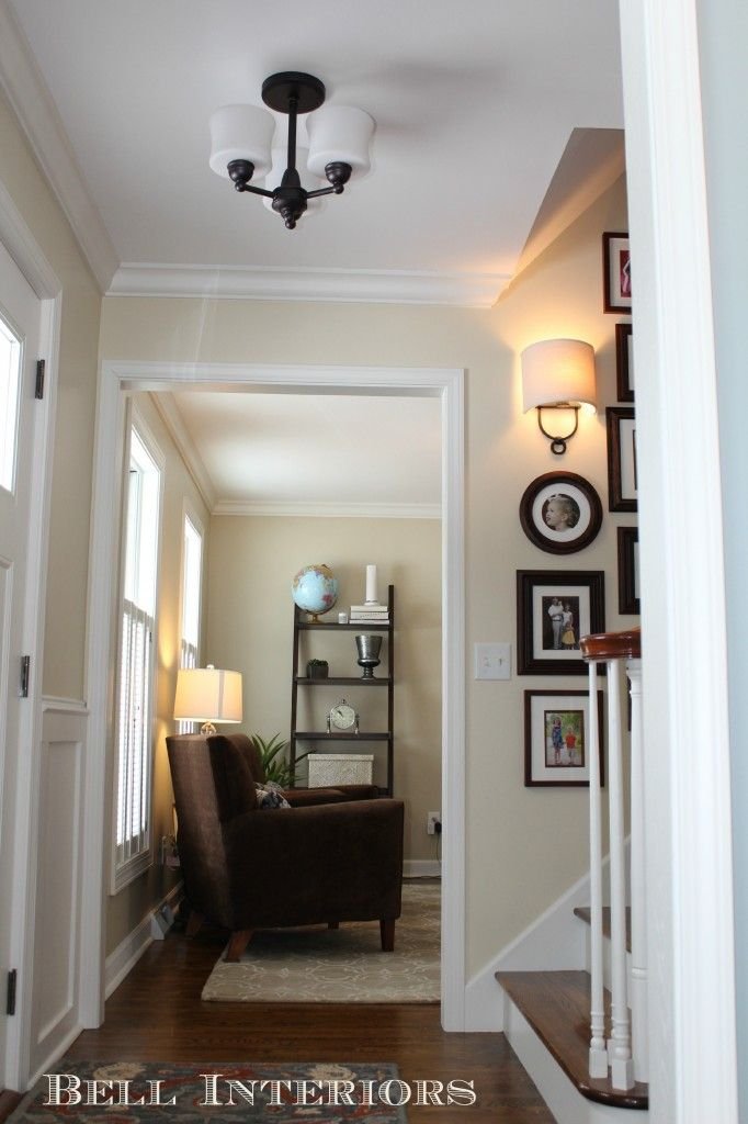 Elephant tusk ben moore client s entry and office make - Benjamin moore interior paint colors ...