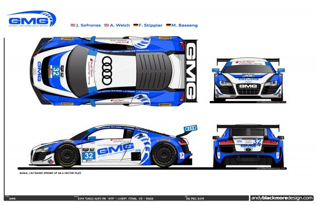 Daytona 24-Hour Audi R8 LMS GTD Driver Lineups, Liveries Revealed