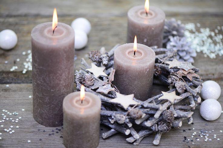 Декор со свечами фото