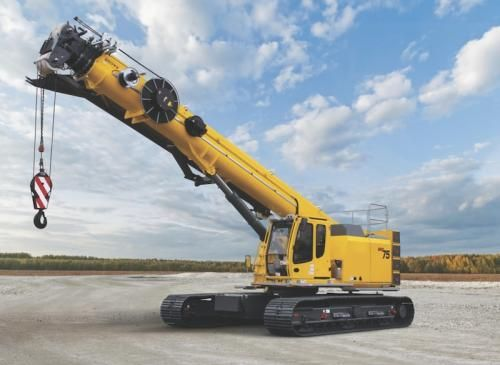Grove GHC55, GHC75, GHC130 Telescoping Boom Cranes | Construction Equipment Link Belt already makes this product