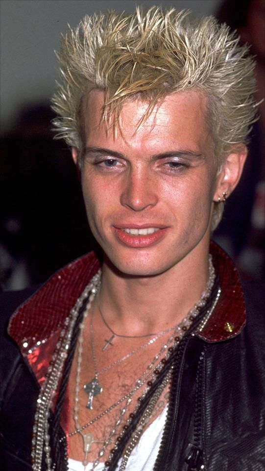 Billy Idol. there was something about him, when I was little, that just captivated me...