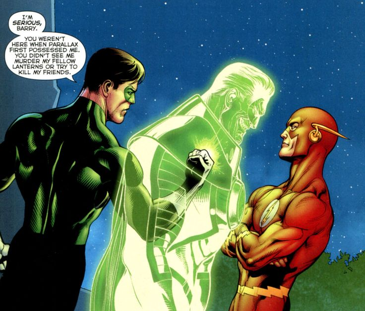 green lantern and flash relationship