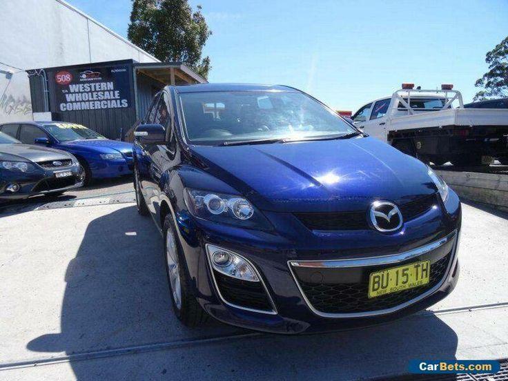 2010 Mazda CX-7 ER MY10 Luxury Sports (4x4) Dark Blue Automatic 6sp A Wagon #mazda #cx7 #forsale #australia
