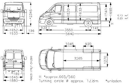Mercedes Sprinter Van Dimensions Bing Images Travel