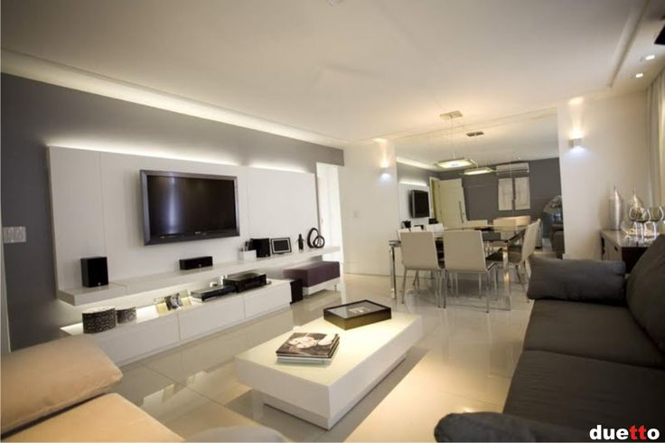 decorar sala branca:cinza ( tinta acrílica acetinada da Suvinil cor D157) + vários