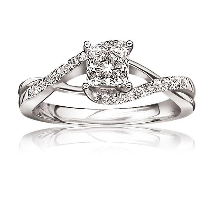best 25 princess cut engagement rings ideas on