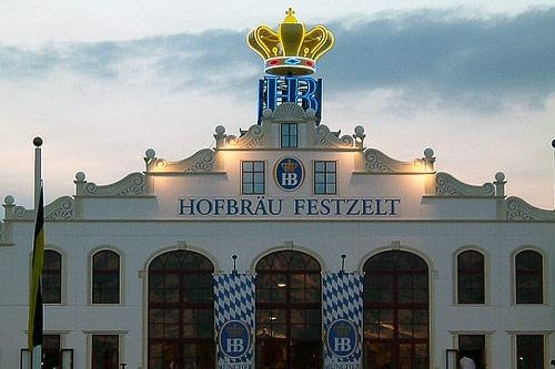 Munich Photos at Frommer's - Hofbräu Festzelt is another popular Oktoberfest beer tent.
