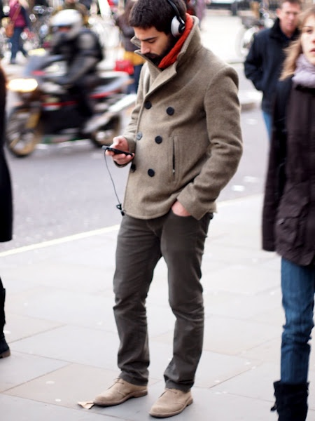I want that jacket... And those pants. Oh, and the scarf. Can I get the headphones for free?