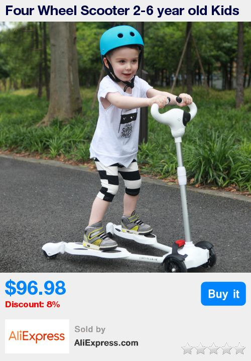 Four Wheel Scooter 2-6 year old Kids Best Quality Kids Scooter For Sale Full Flash PU Wheel Within 50KG * Pub Date: 14:41 Apr 22 2017