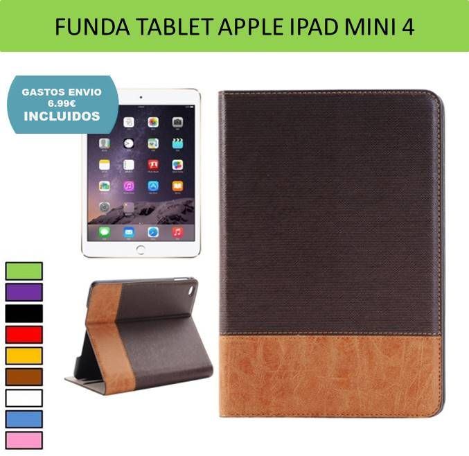 Fundas para iPad Mini 4. Accesorios tablets Apple, electronica y tecnologia.