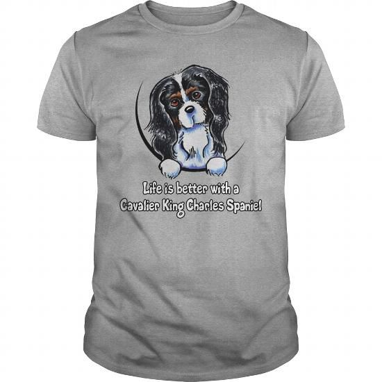 King Charles Spaniel Sweatshirt, King Charles Cavalier Sweater, Dog Walker Gift, Auntie Gift, Custom Sweatshirt, Oversized Sweatshirt