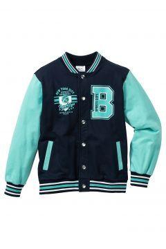 bpc bonprix collection Kolej stili sweat ceket Bd. 116/122-164/170 - Mavi https://modasto.com/bonprix/erkek-cocuk/br11975ct138