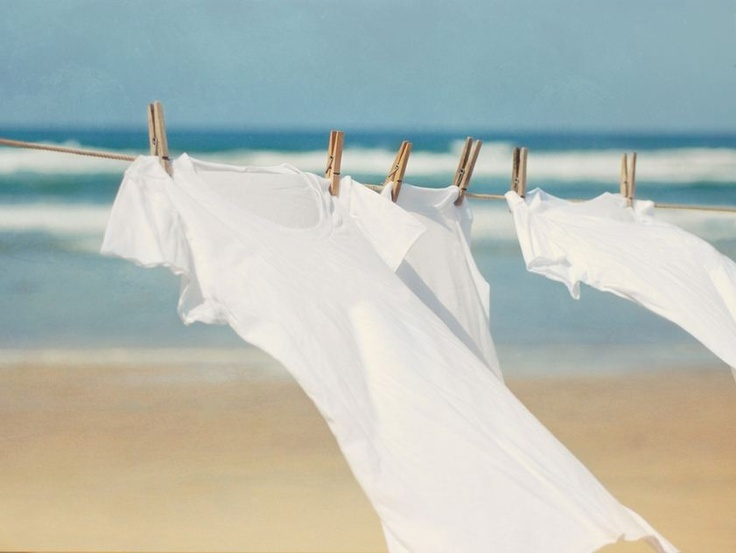 how to stop clothes smelling when drying