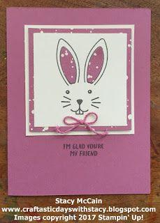 March 2017 Paper Pumpkin - Bunny Buddies - Alternative Ideas; #stampinup; #paperpumpkin