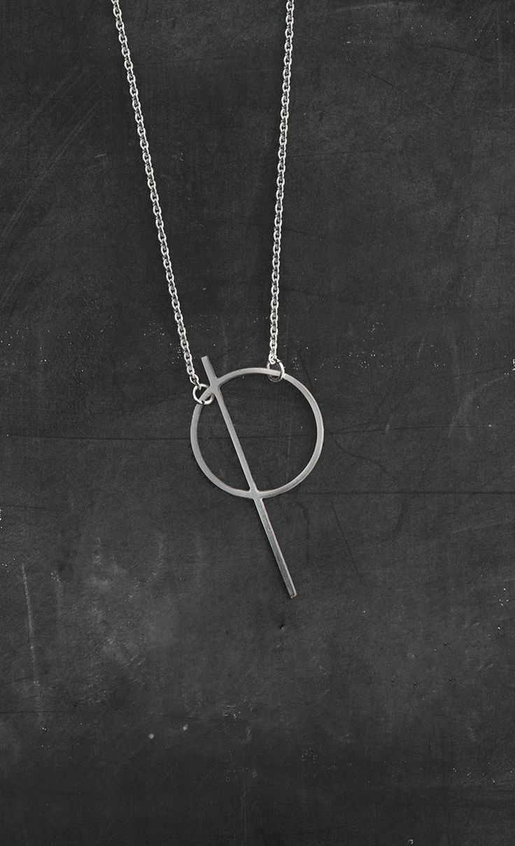 Thale necklace from 'Geometry' jewelry collection // moodlikeme.com