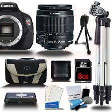 NEW Canon Rebel T3i 18.0 MP SLR Camera 18-55 IS II и широкоугольный объектив.