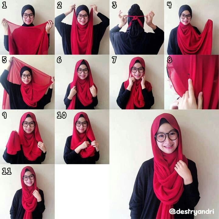 .how to hijab