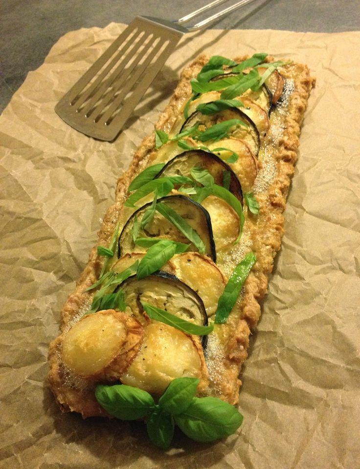 Meat Pie med aubergine og gedeost