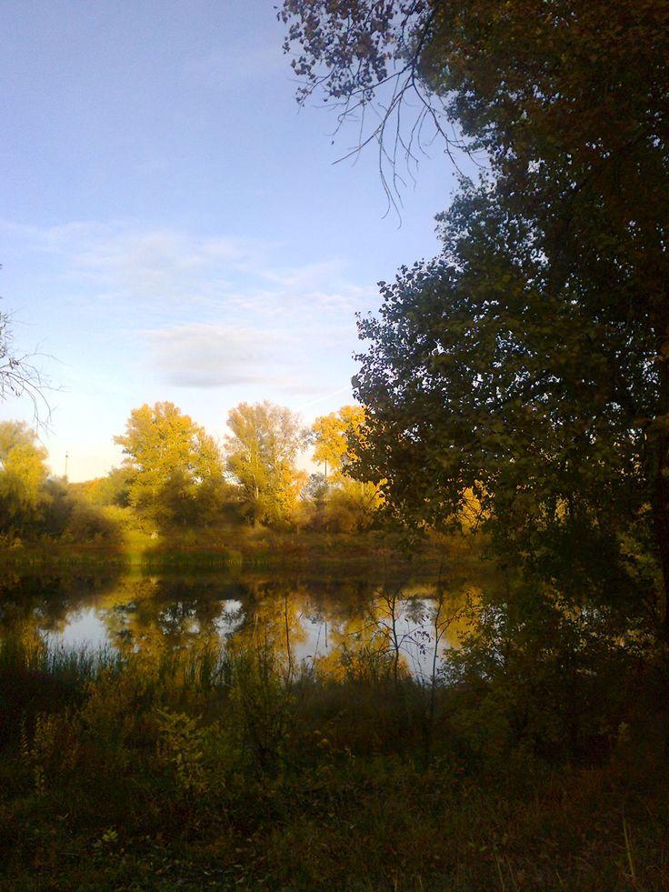 Осенью на озере.