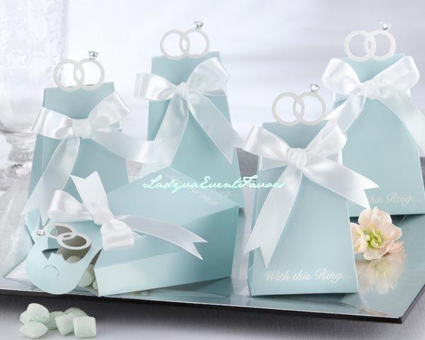 Elegant ring favor box