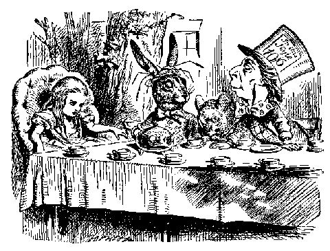 Alice & the Mad Hatter's Tea Party