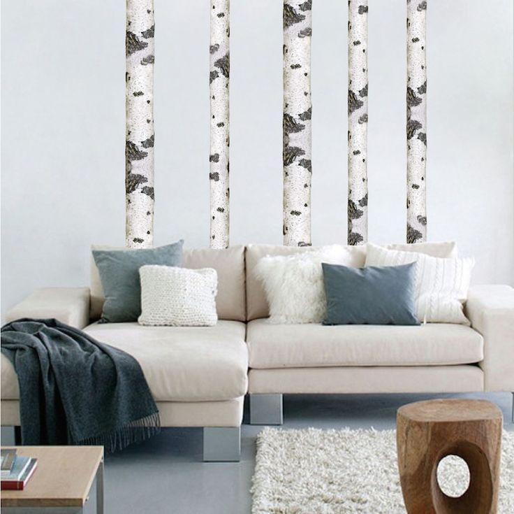 Birch Tree Wall Decal   Tree Wall Decal Murals   Primedecals Part 54