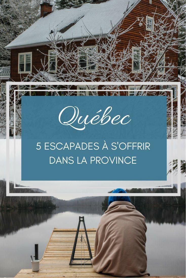 L'hiver, le meilleur moment de l'année pour faire une escapade dans la province de Québec: la magie de l'hiver, le calme de la basse saison et les promesses de la nouvelle année. #quebecoriginal #quebec #vacances #weekend