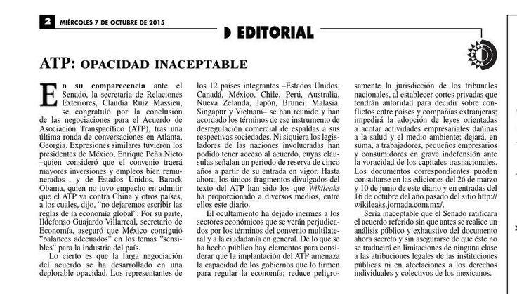 #ClippedOnIssuu from La Jornada, 10/07/2015