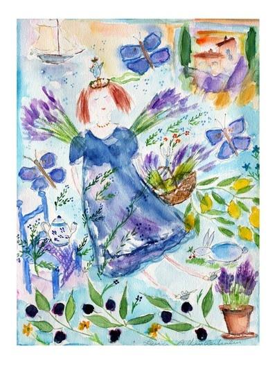 Lena Linderholm, Lavendelprinsessan. Have it - love it!