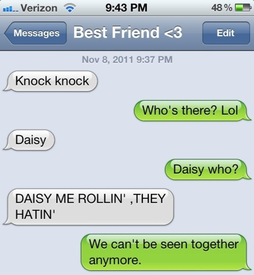 Hahha: Funny Texts, Laughing,  Internet Site,  Website, Friends, Web Site, Texts Messages, Daisies, Knock Knock Jokes