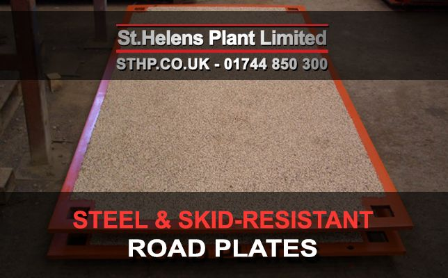 What are Steel Road Plates and Anti-Skid Road Plates Used for?