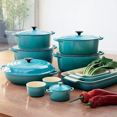 Le Creuset - Teal Collection