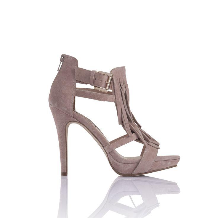 Ipekyol #püskül detaylı #topuklu #ayakkabı.